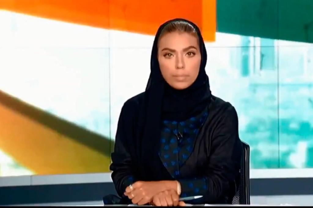 Premieră: O femeie a prezentat știrile la postul național saudit
