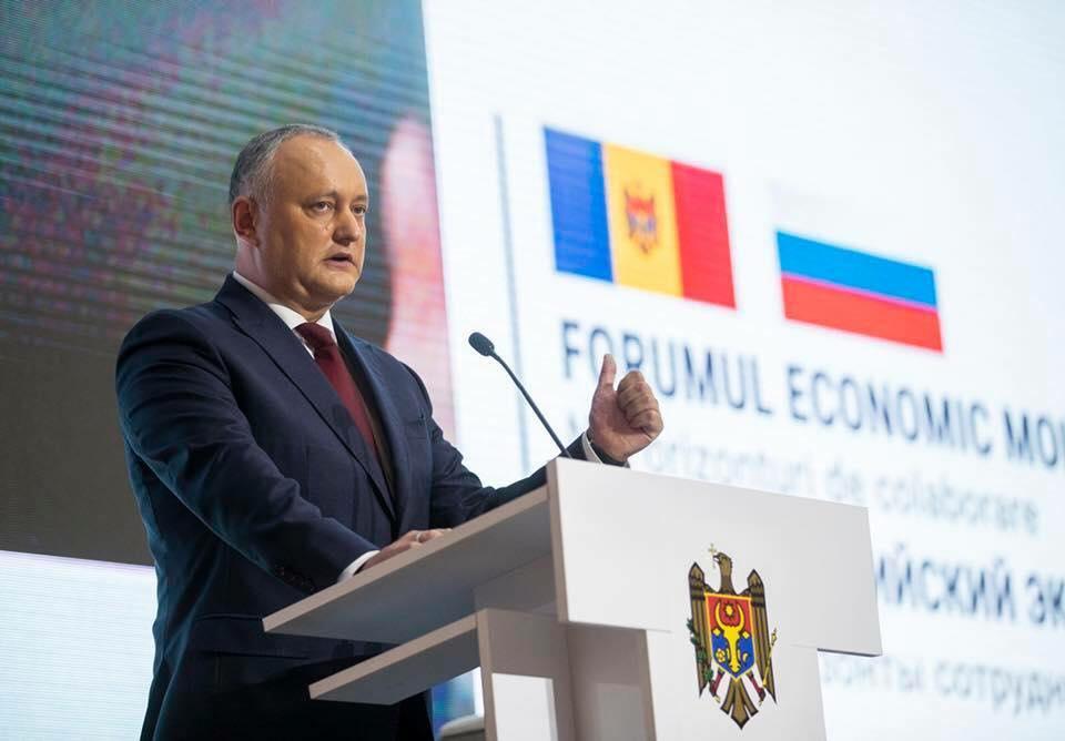 Igor Dodon, suspendat a patra oară din funcție
