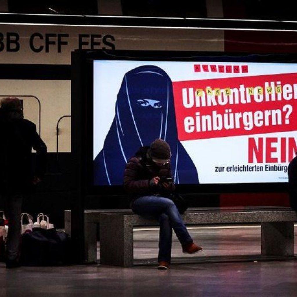 Un canton din Elveția a votat interzicea vălului islamic