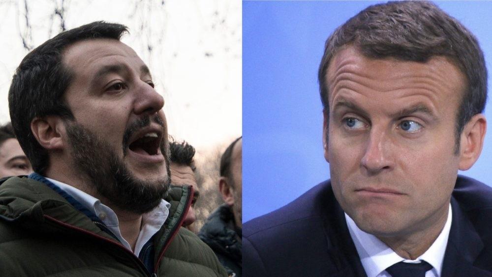 Matteo Salvini: Emmanuel Macron este un produs de laborator